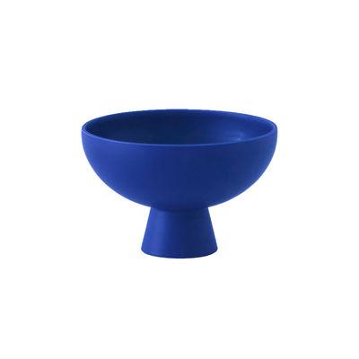 Image of Coppa Strøm Small - / Ø 15 cm - Ceramica / Fatta a mano di raawii - Blu - Ceramica