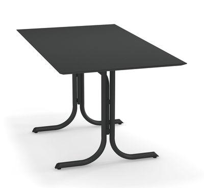 Outdoor - Tische - System Klapptisch / 80 x 140 cm - Emu - Eisen Antik - Verzinkter lackierter Stahl