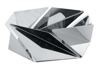 Tischkultur - Körbe, Fruchtkörbe und Tischgestecke - Kaleidos Korb - Alessi - Stahl, poliert, mit Spiegeloberfläche - Acier inoxydable poli miroir