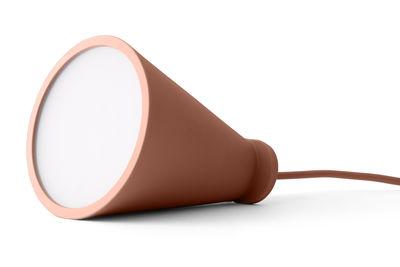 Illuminazione - Lampade da tavolo - Lampada nomade Bollard - Lampada portatile da appoggiare o sospendere - H 13 cm di Menu - Neutro - Plastica, Silicone