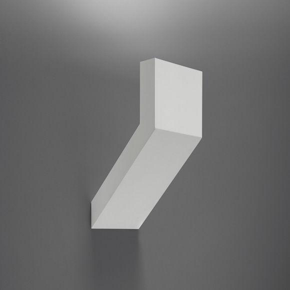 Leuchten - Wandleuchten - Chilone Outdoor-Wandleuchte für den Außeneinsatz - Artemide - Aluminium - klarlackbeschichtetes Aluminium