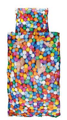 Déco - Pour les enfants - Parure de lit 1 personne Piscine à balles / 140 x 200 cm - Snurk - Piscine à balles - Percale de coton
