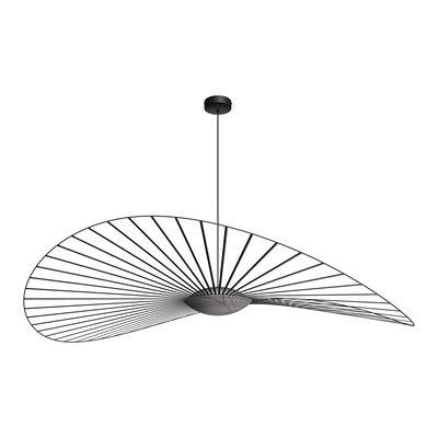 Lighting - Pendant Lighting - Vertigo Nova LED Pendant - / Ø 190 cm by Petite Friture - Black - Fibreglass, Polyurethane, Three-ply glass