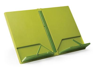 Accessoires - Pratique et malin - Présentoir à livre Cookbook / Pliable - Joseph Joseph - Vert - ABS