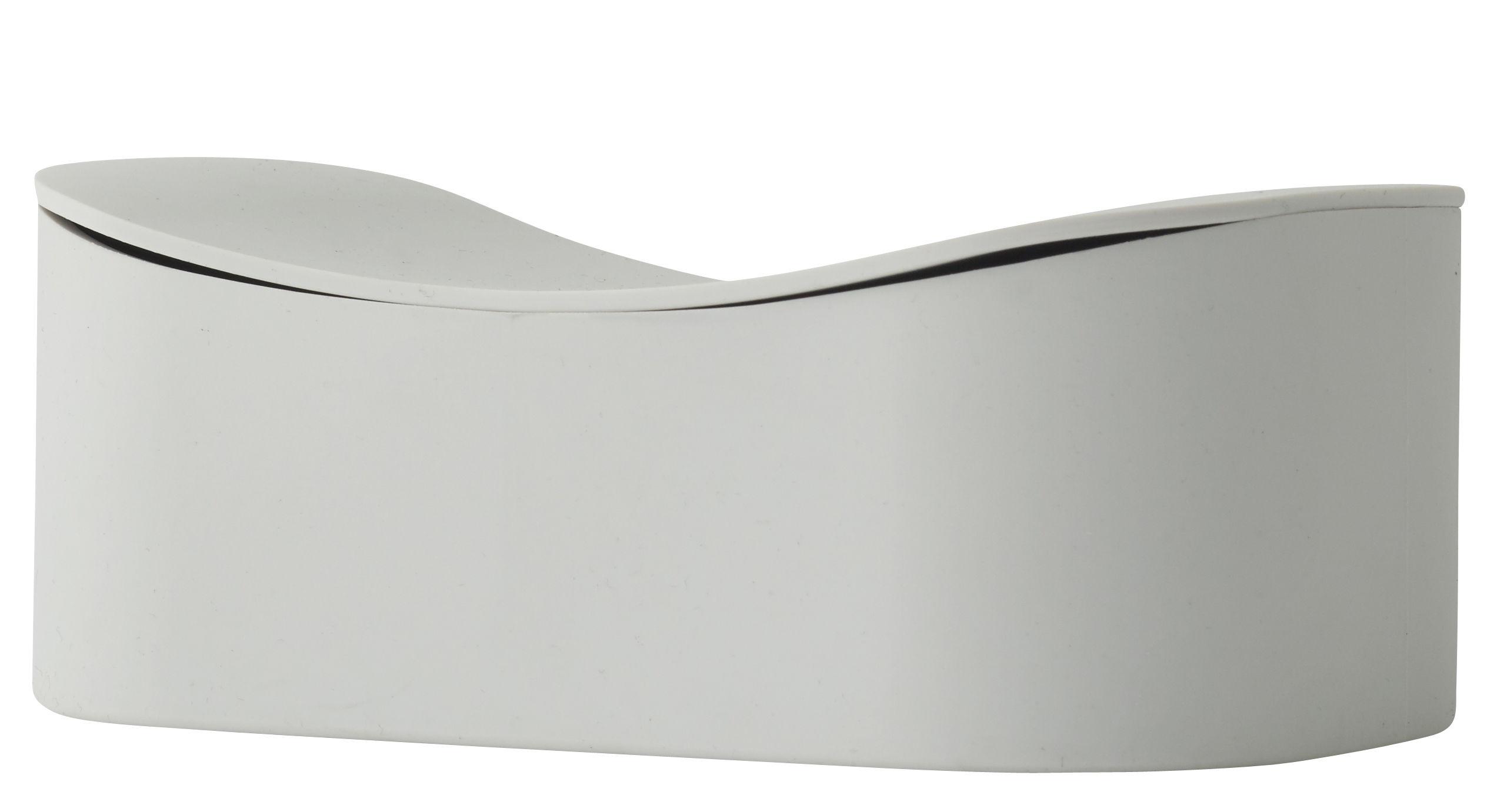 Cucina - Lattine, Pentole e Vasi - Scatola Phold Large / Silicone - L 18 x H 6 cm - Menu - Frassino (grigio chiaro) - Silicone