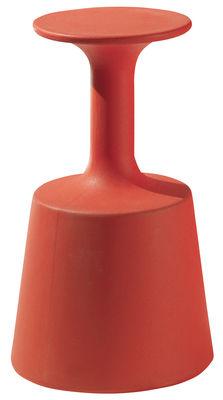Arredamento - Sgabelli da bar  - Sgabello bar Drink di Slide - Rosso - Polietilene