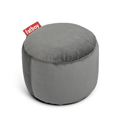 Point velvet Sitzkissen / Velours - Ø 50 cm - Fatboy - Taupe