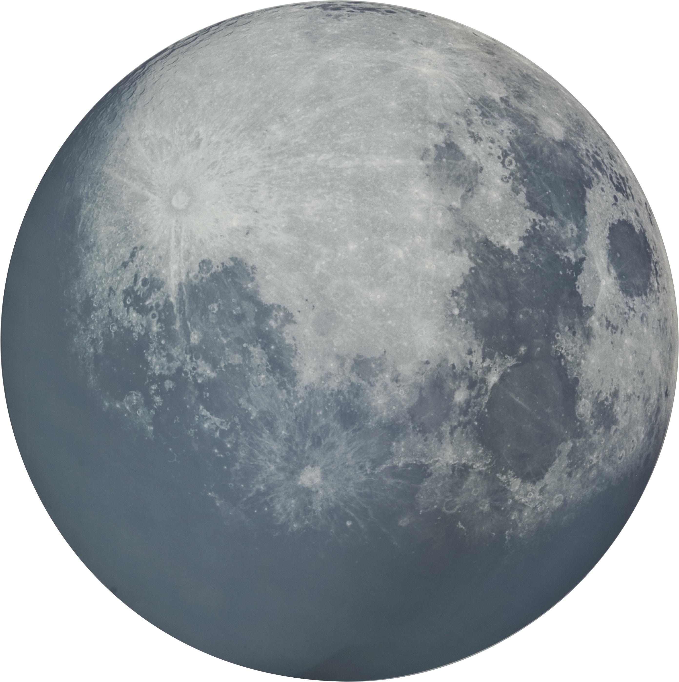 Arredamento - Specchi - Specchio murale My moon My mirror - Ø 100 cm di Diesel with Moroso - Specchio serigrafato - Vetro