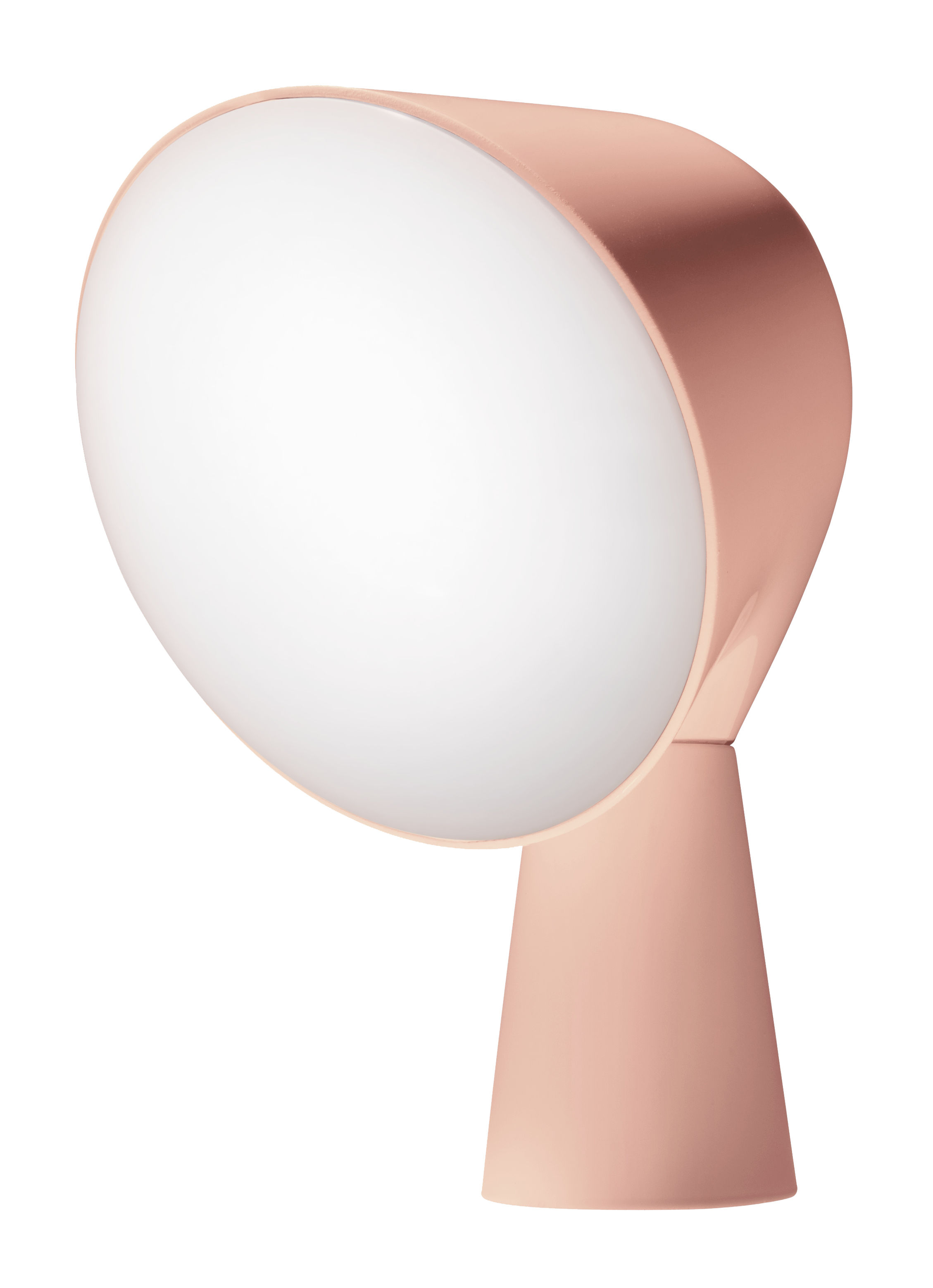 Lighting - Table Lamps - Binic Table lamp by Foscarini - Pink - ABS, Polycarbonate
