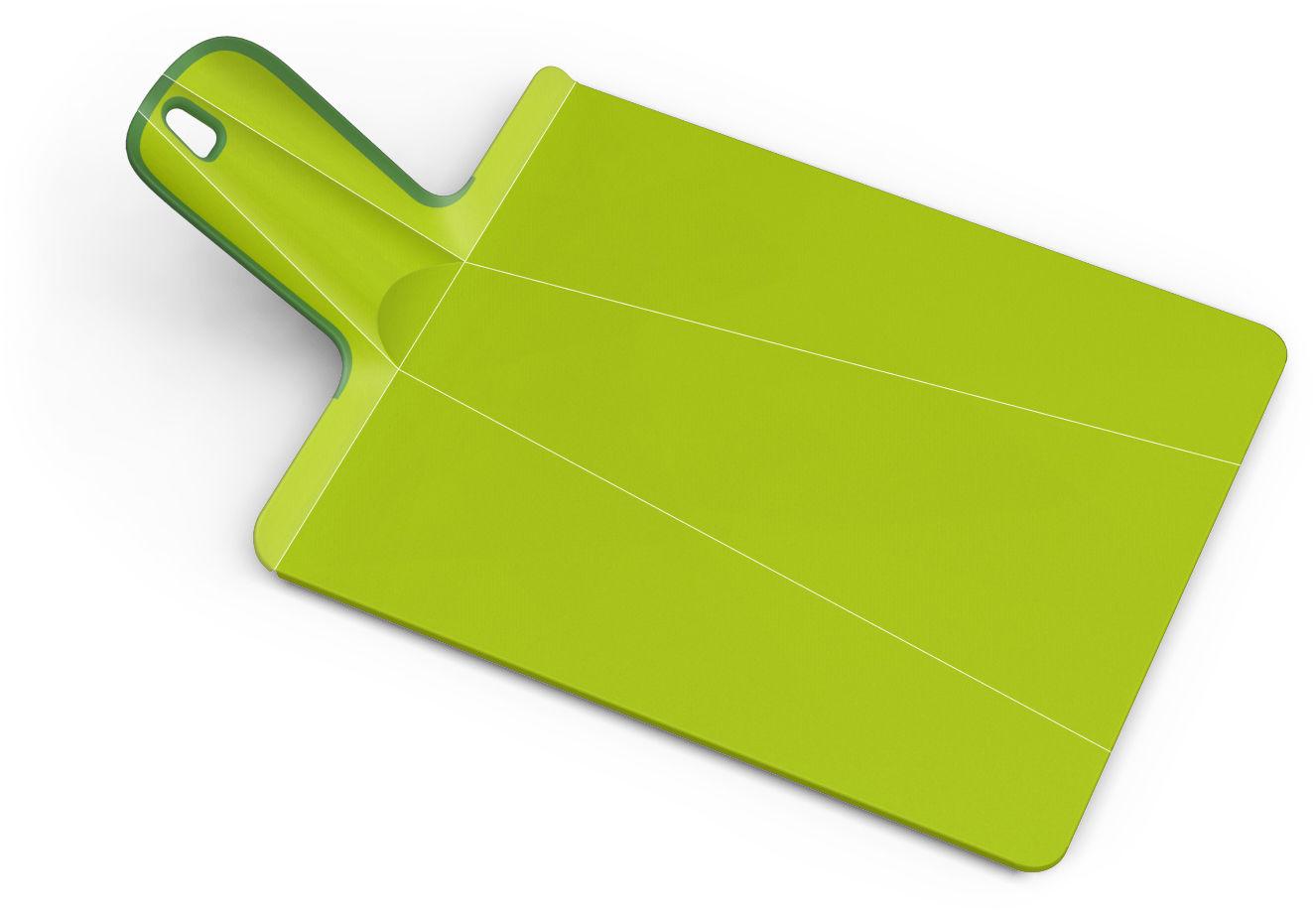 Cucina - Pratici e intelligenti - Tagliere Chop2Pot - pieghevole di Joseph Joseph - Verde - Polipropilene