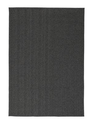 Tapis d'extérieur Torsade / 170 x 240 cm - Toulemonde Bochart gris/noir en matière plastique