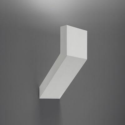 Chilone Wandleuchte für den Außeneinsatz - Artemide - Mattmetall