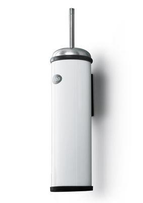 Vipp 11 wc b rste f r wandmontage wei edelstahl by vipp made in design - Wc burste wandmontage ...
