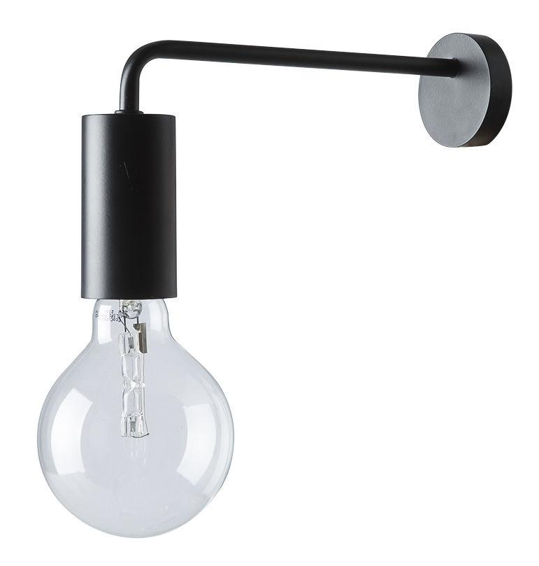 Luminaire - Appliques - Applique avec prise Cool - Frandsen - Noir mat - Métal peint