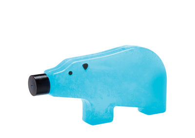 Tavola - Accessori  - Blocco refrigerante Blue bear - / Small -  L 13 cm di Pa Design - Small / Blu - Plastique alimentaire