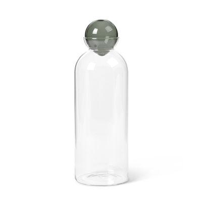 Arts de la table - Carafes et décanteurs - Carafe Still / 1,4 L - Verre soufflé bouche - Ferm Living - Transparent / Gris fumé - Verre soufflé bouche
