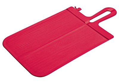 Kitchenware - Kitchen Equipment - Snap Chopping board by Koziol - Raspberry - Polypropylene