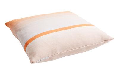 Coussin Colour n°9 / 50 x 50 cm - Laine - Hay orange,beige en tissu