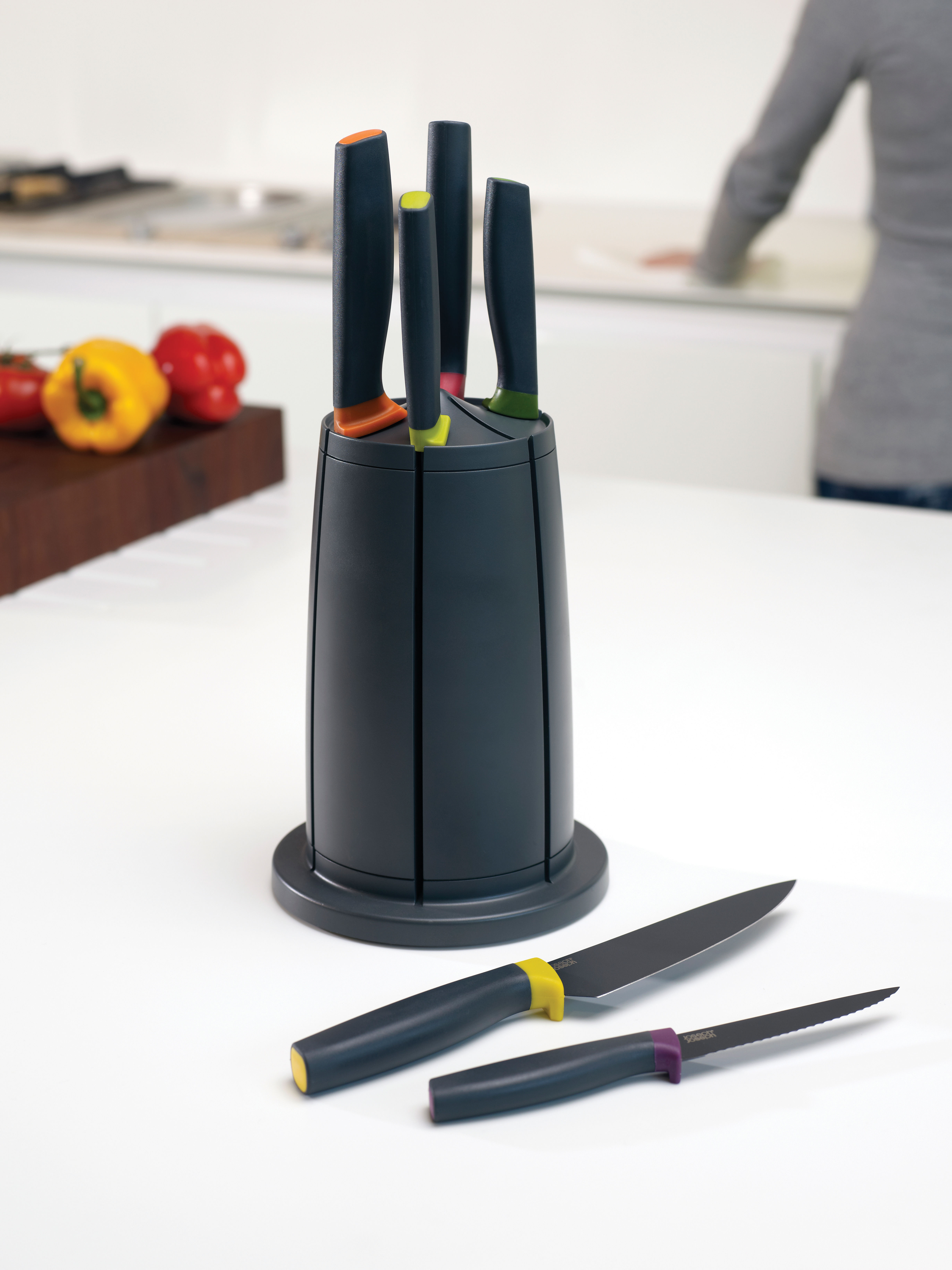 Couteau De Cuisine Elevate Joseph Joseph Multicolore