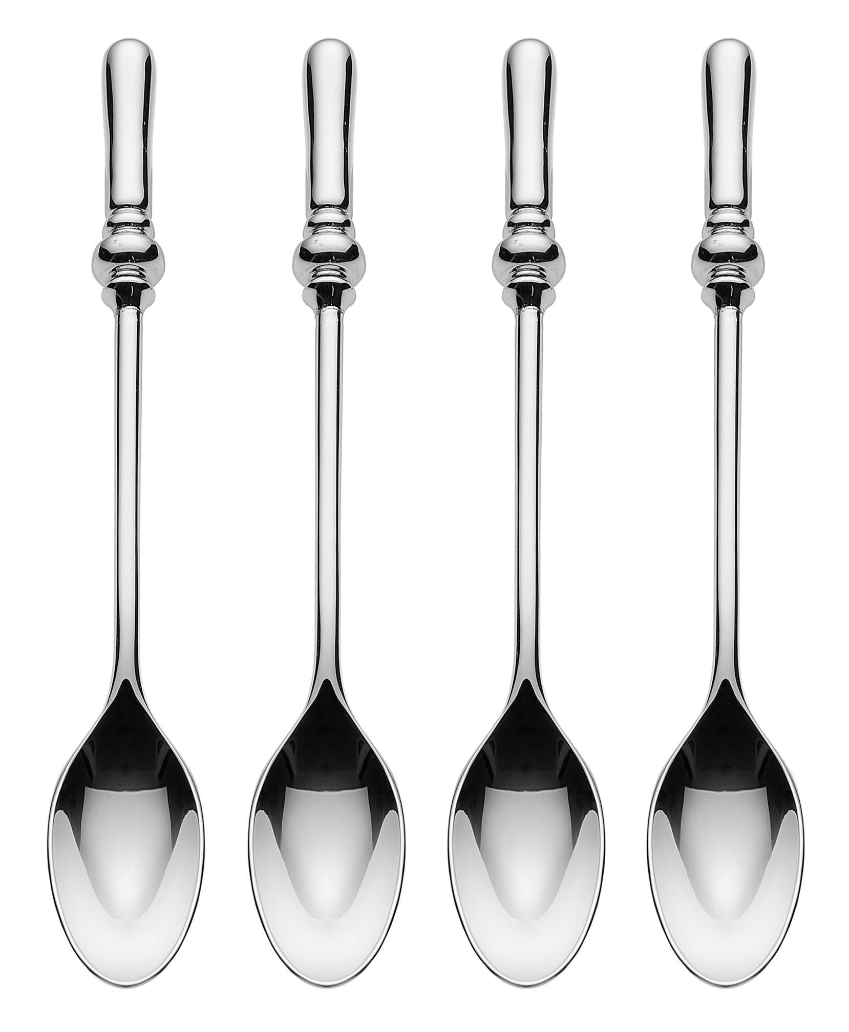 Arts de la table - Couverts de table - Cuillère à café Dressed / Set de 4 - Alessi - Inox - Acier inoxydable