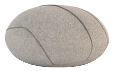 Image of Cuscino Hervé Livingstones - Versione in lana da interno di Smarin - Grigio - Tessuto