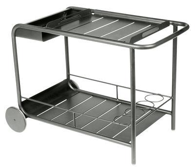 Mobilier - Compléments d'ameublement - Desserte Luxembourg / Aluminium - Fermob - Romarin - Aluminium laqué