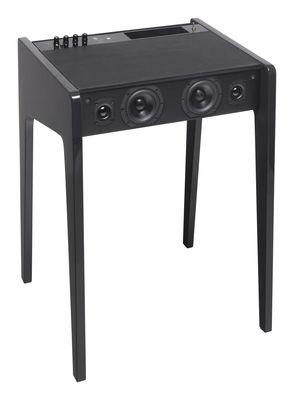 Enceinte Bluetooth LD 120 Pour ordi portable, iPod, iPhone L 57 cm La Boîte Concept noir en bois