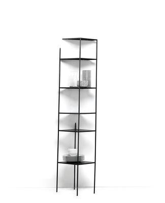 Etagère Mama´ wall / Trompe l´œil - H 186 cm - Mogg noir en métal