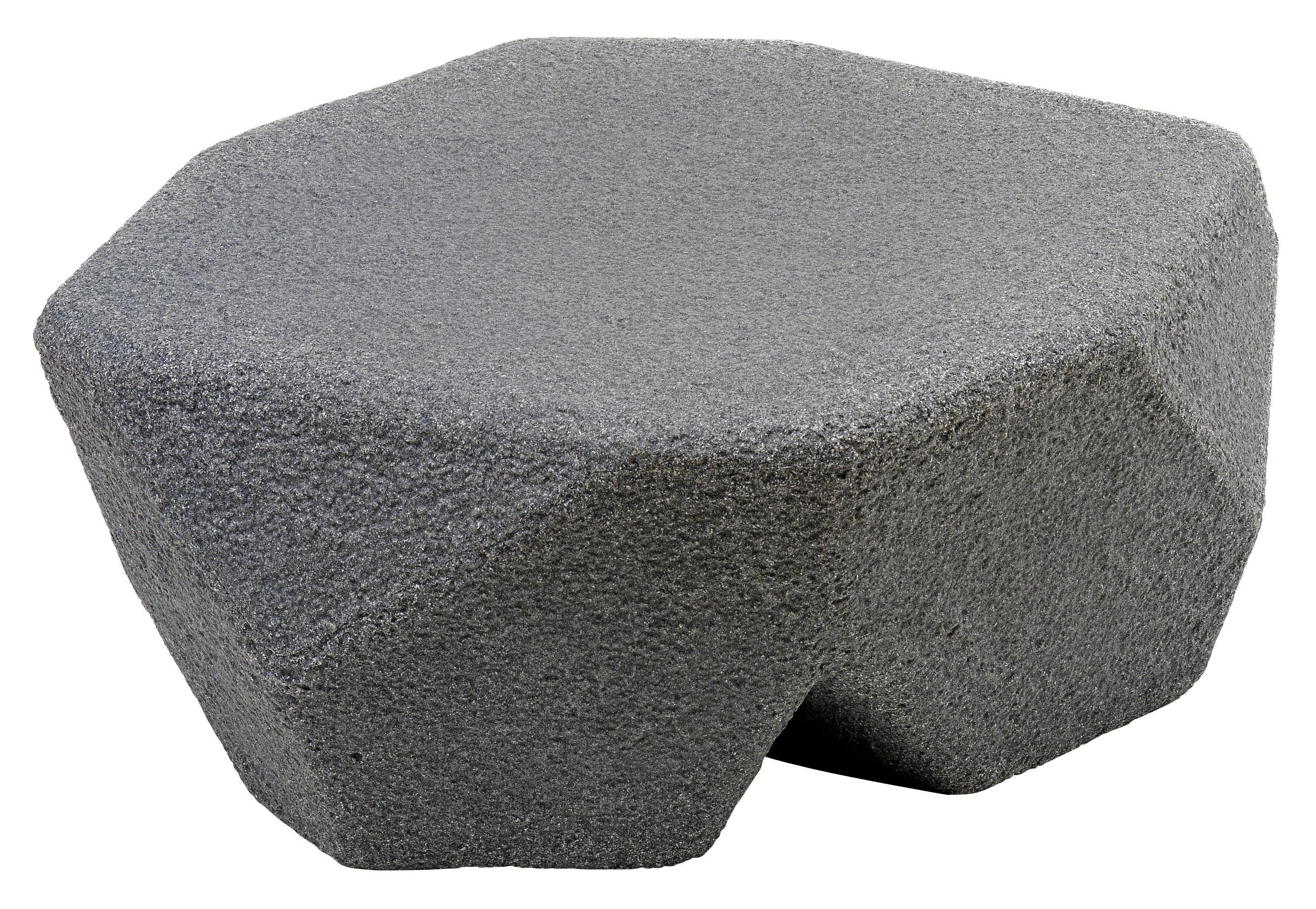 Möbel - Couchtische - Piedras Kindertisch / Sitzhocker - Magis Collection Me Too - Anthrazit-grau - Polyäthylen