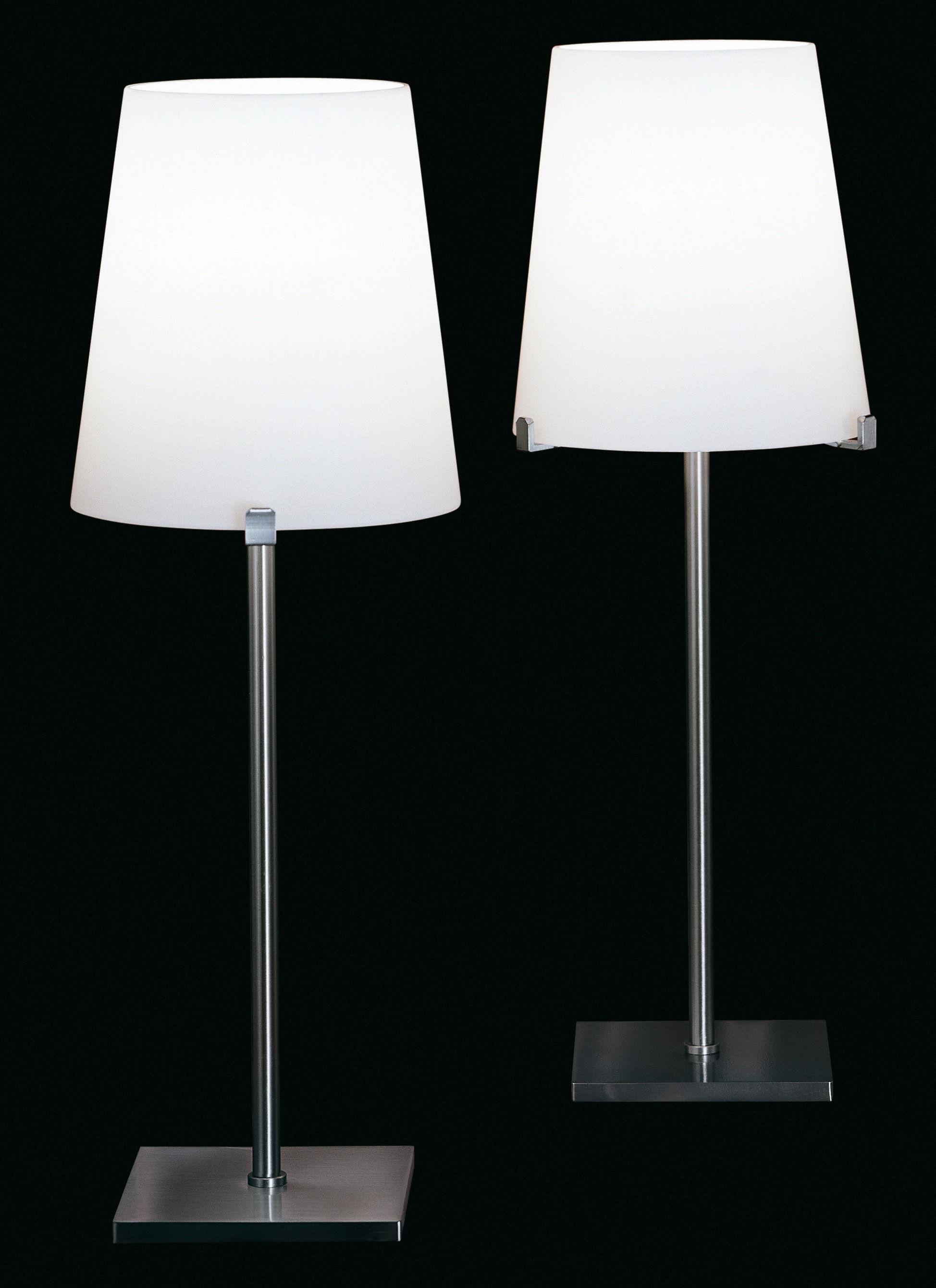 Chiara lampada da tavolo bianco by fontana arte made in design - Lampade da tavolo fontana arte ...