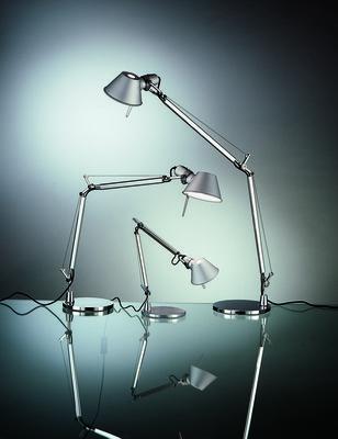 Scopri lampada da tavolo tolomeo alluminio incandescente di artemide made in design italia - Lampade da tavolo artemide prezzi ...