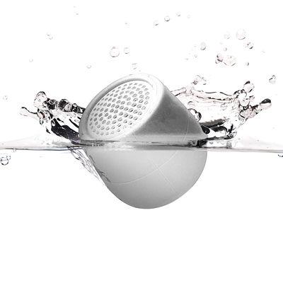 Accessori - Altoparlante & suono - Mini cassa acustica Bletooth Mino X - 3W - /FLOTTANTE - Senza fili di Lexon - Bianco - ABS, Silicone
