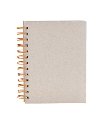 Accessories - Pens & Notebooks - Tab Notepad - / 18 x 12 cm by House Doctor - 18 x 12 cm/ Grey - Paper