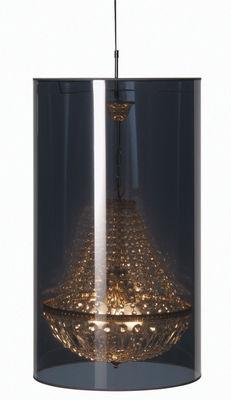Leuchten - Pendelleuchten - Light Shade Shade Pendelleuchte Ø 47 cm - Moooi - Spiegel und gold - Ø 47 cm - Glas, Metall, Plastikmaterial