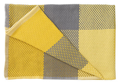 Valentine's day - Valentines Day: Our best ideas for Her - Loom Plaid - /130 x 180 cm by Muuto - Yellow - Cotton
