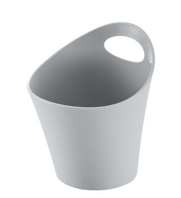 Pot Pottichelli XS / Ø 15 x H 9 cm - Koziol gris clair en matière plastique