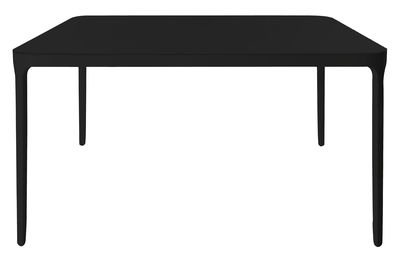 Möbel - Tische - Vanity quadratischer Tisch Quadratisch – 90 x 90 cm - Magis - 90 x 90 cm - schwarz - klarlackbeschichtetes Aluminium, klarlackbeschichtetes Glas