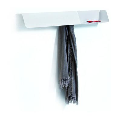 Arredamento - Scaffali e librerie - Scaffale Dock - / Appendiabiti, lavagnetta magnetica di B-LINE - Bianco - Acciaio verniciato