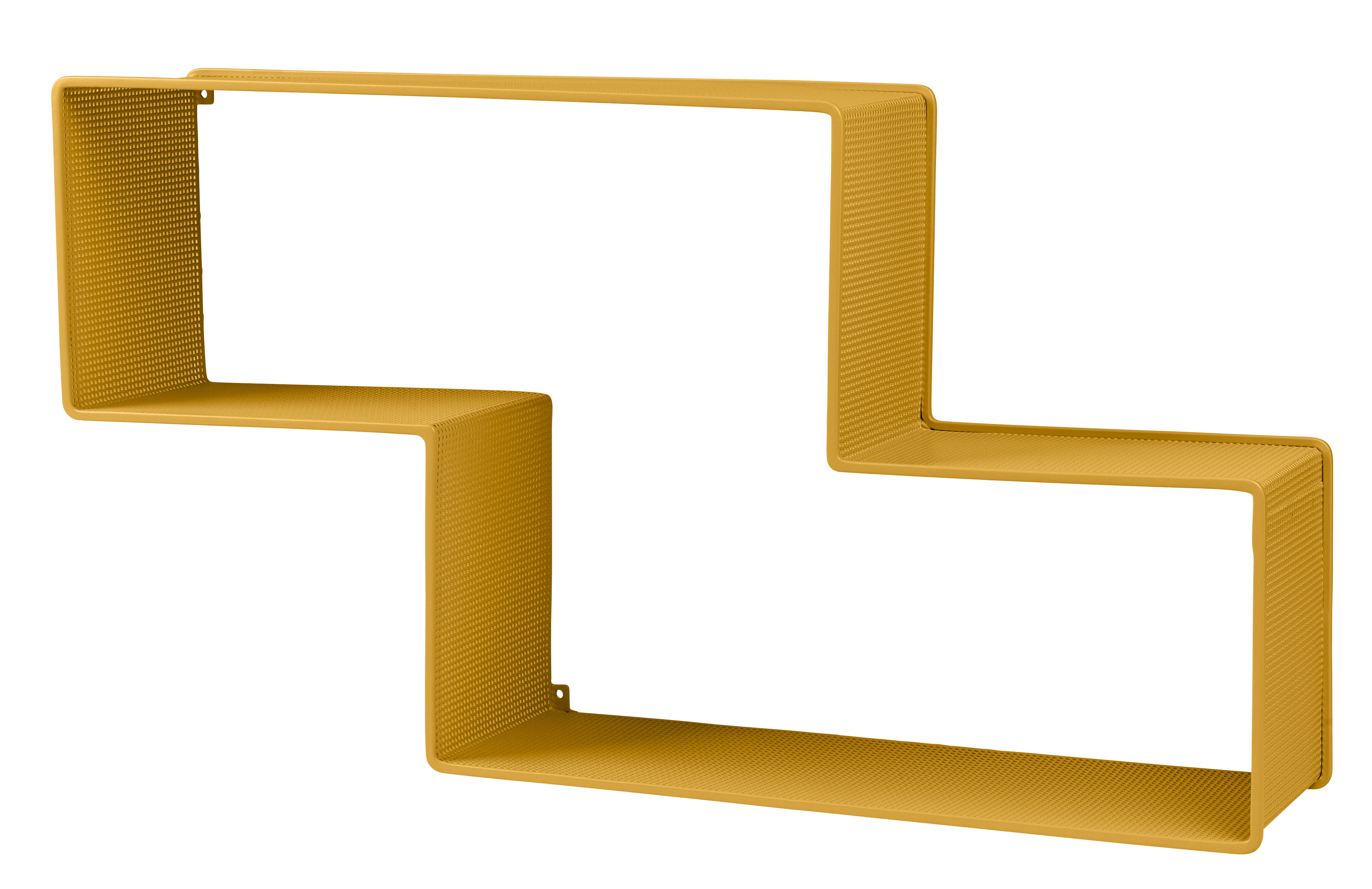 Furniture - Bookcases & Bookshelves - Dédal Shelf - W 90 x H 49 cm - 1950 by Gubi - Venetian Gold - Steel plate