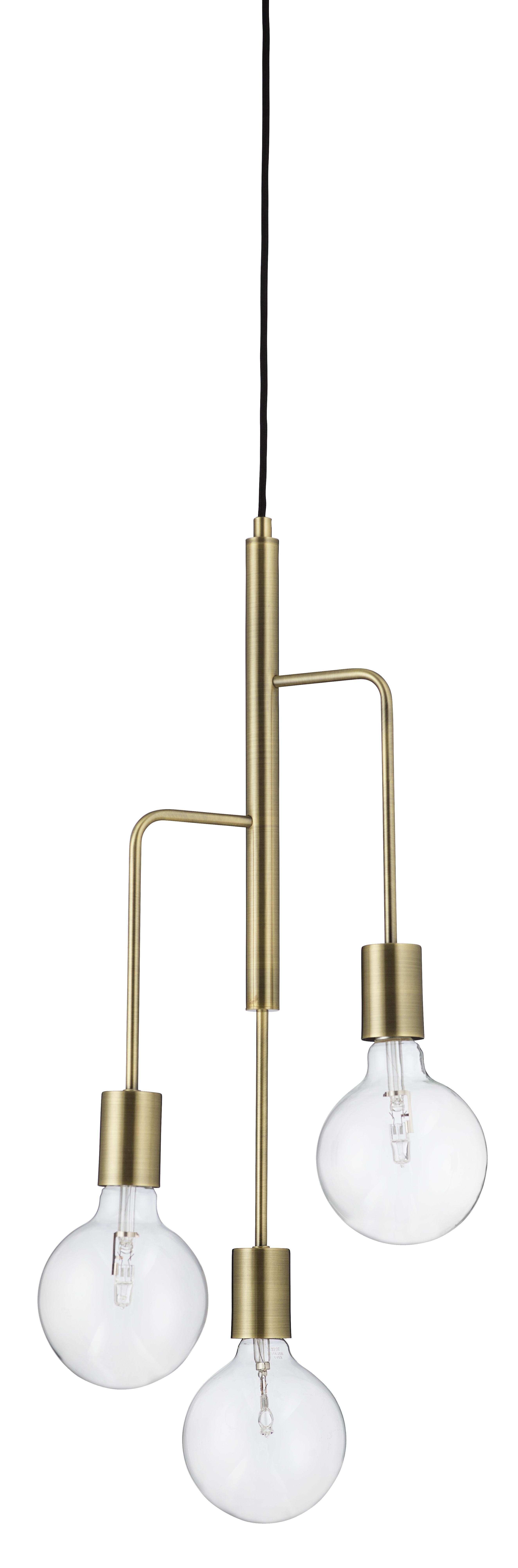 Illuminazione - Lampadari - Sospensione Cool / Ø 25 cm - Frandsen - Ottone opaco - metallo verniciato