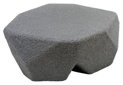 Mobilier - Tables basses - Table enfant Piedras / Pouf - Magis Collection Me Too - Gris anthracite - Polyéthylène