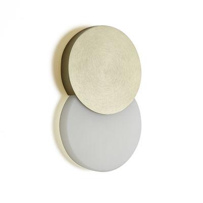 Lighting - Wall Lights - Duo LED Wall light by ENOstudio - Gold - Acrylic, Anodized aluminium