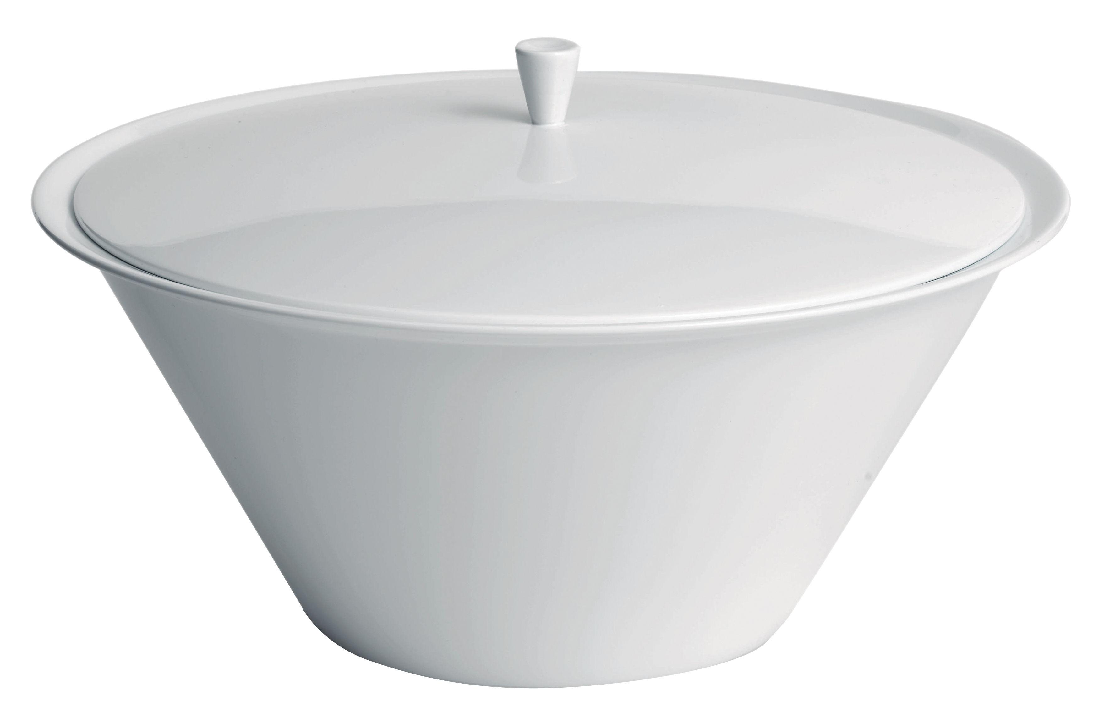Küche - Zuckerdosen und Milchkännchen - Anatolia Zuckerdose - Driade Kosmo - Weiß - Porzellan