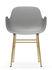 Form Armchair - / Brass foot by Normann Copenhagen