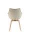 Meridiana Armchair - / 4 wooden feet by Driade