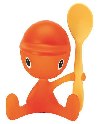 Coquetier Cico - A di Alessi orange en matière plastique