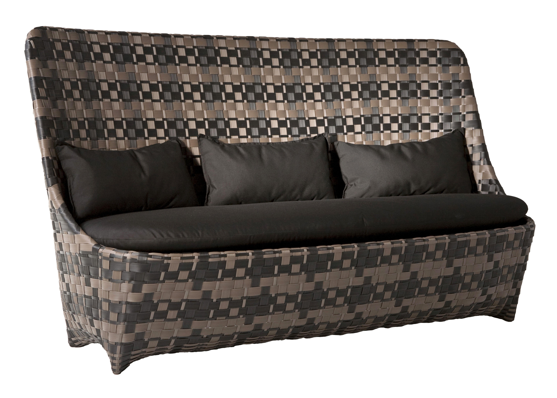 Scopri divano destro cape west nero marrone di driade made in