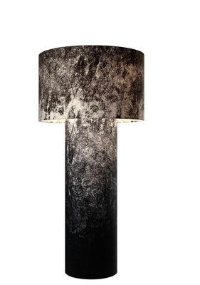 Lighting - Floor lamps - Pipe Floor lamp - Medium H 149 cm by Diesel with Foscarini - Black - Fabric, Metal