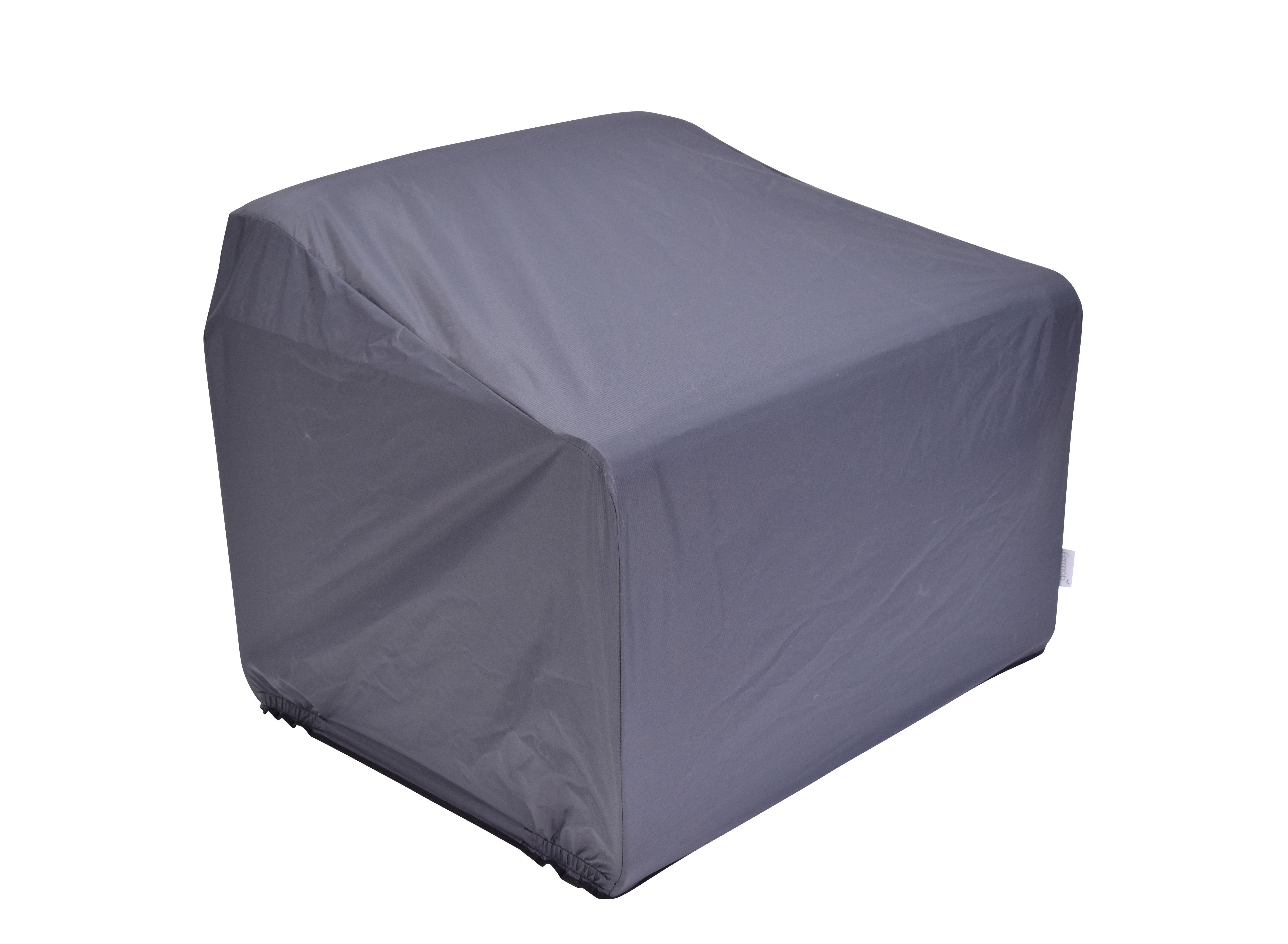 Outdoor - Sedie - Fodera di protezione - / per poltrona Bellevie di Fermob - Carbone - Poliammide