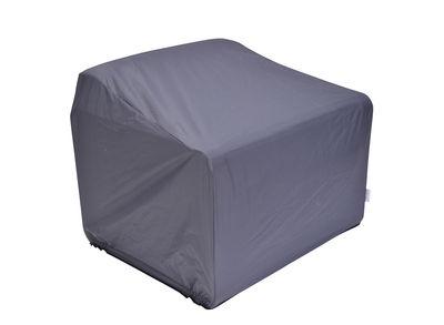 Housse de protection / pour fauteuil Bellevie - Fermob gris/noir en tissu